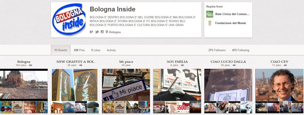 Bologna Inside on Pinterest